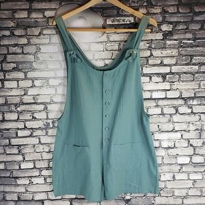 MISSLOOK Shortall Sage Green Size Large